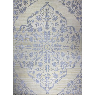 Medallion Beige Rug Rug Size: Rectangle 5 x 8