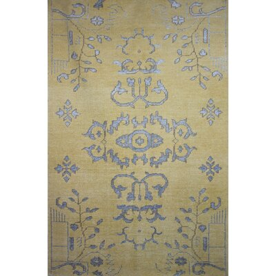 Medallion Beige Rug Rug Size: Rectangle 2 x 3