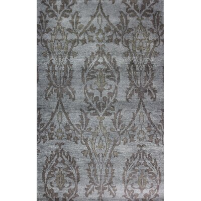 Medallion Grey Rug Rug Size: 2 x 3
