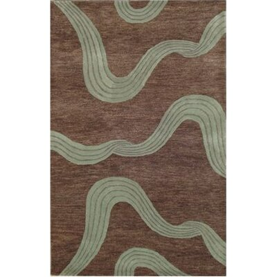 Modena Brown Rug Rug Size: 5 x 8