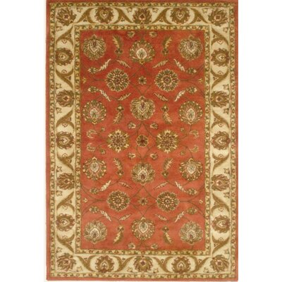 Nina Rust Area Rug Rug Size: Rectangle 5 x 8