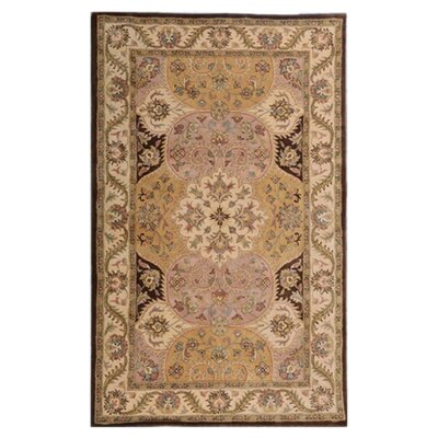 Patra Brown Area Rug Rug Size: 9 x 13