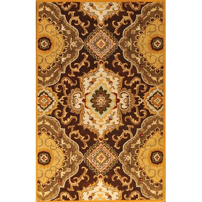 Patra Brown Area Rug Rug Size: 8 x 11