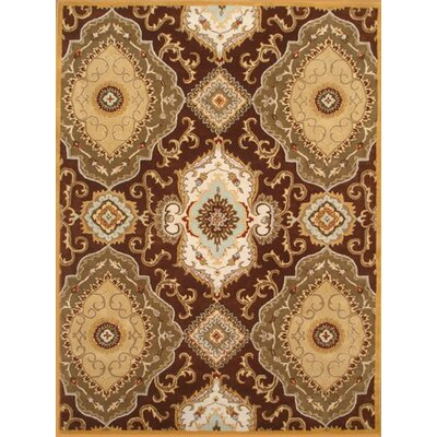 Patra Light Brown Area Rug Rug Size: 2 x 3