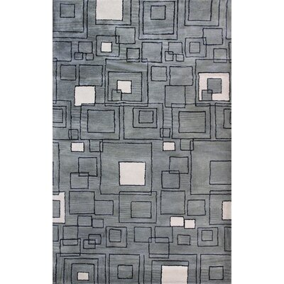 Rhythm Grey Rug Rug Size: Rectangle 5 x 8