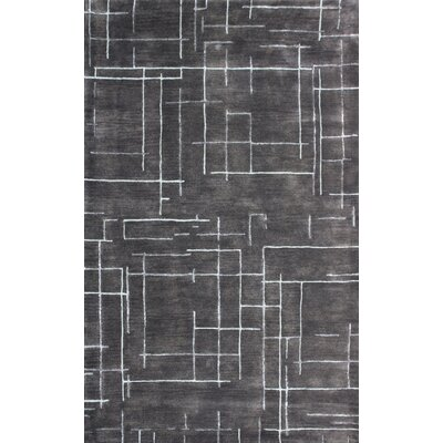 Rhythm Brown Rug Rug Size: 5 x 8