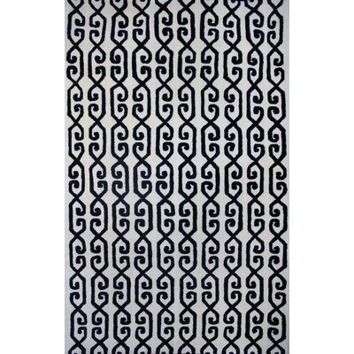 Rhythm Ivory Rug Rug Size: Rectangle 4 x 6