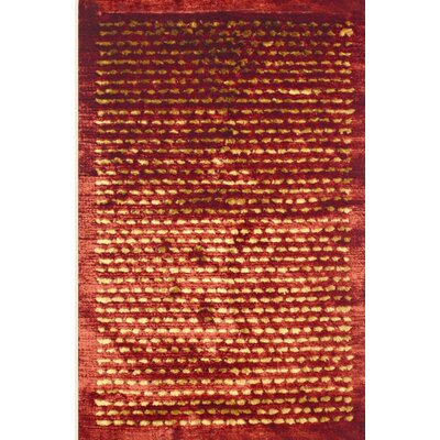 Royal Shag Rust/Gold Rug Rug Size: 5 x 77