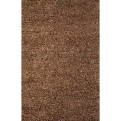 Royal Shag Brown Rug Rug Size: 5 x 76