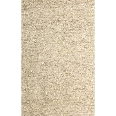 Royal Shag Ivory Rug Rug Size: 79 x 106