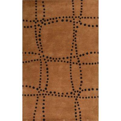 Sway Brown Rug Rug Size: 5 x 8