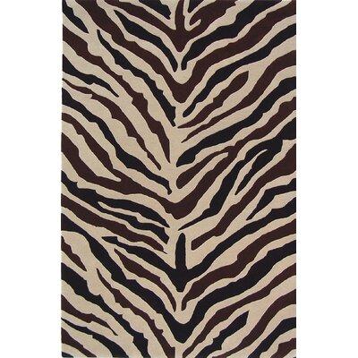 Sway Zebra Rug Rug Size: 4 x 6