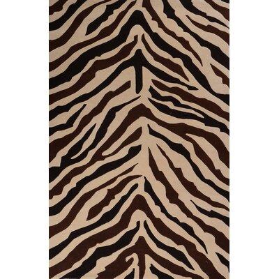 Sway Zebra Rug Rug Size: 5 x 8