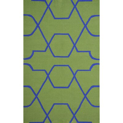 Thai 01 Green Indoor/Outdoor Area Rug Rug Size: 8 x 11