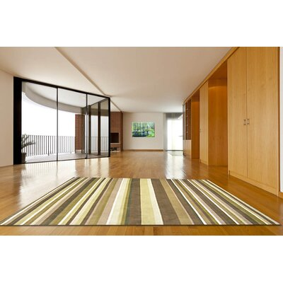 Ashlee Striped Area Rug Rug Size: Rectangle 58 x 89