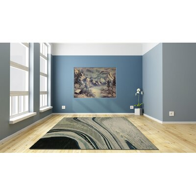 Calypso Grey Area Rug Rug Size: Rectangle 5 x 8