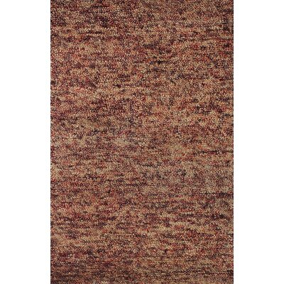 Rexroad Hand-Woven Red Area Rug Rug Size: 7 5 x 7 6