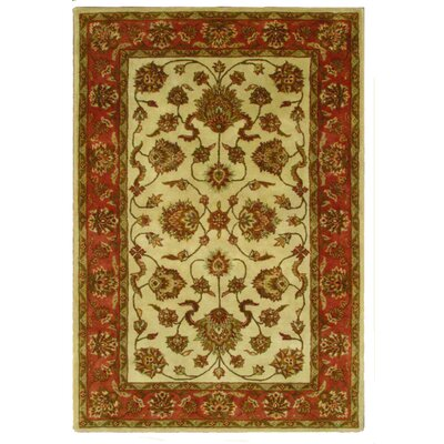 Jasmine Ivory Rug Rug Size: Rectangle 8 x 11