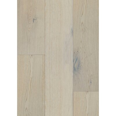 7.5 Engineered Oak Hardwood Flooring in Brushed Light Oak