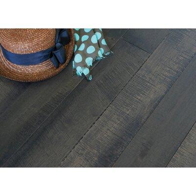 4 Solid Hevea Hardwood Flooring in Native Cocoa