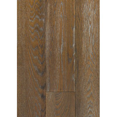 6 Engineered Oak Hardwood Flooring in Brushed Wheat
