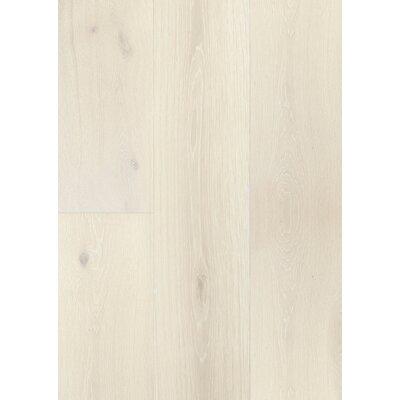 7.5 Engineered Oak Hardwood Flooring in Brushed Alabaster Oak