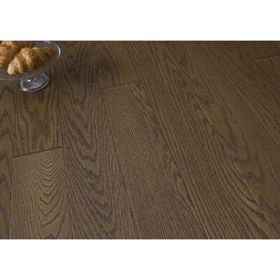 5 Engineered Oak Hardwood Flooring in Brushed Latte