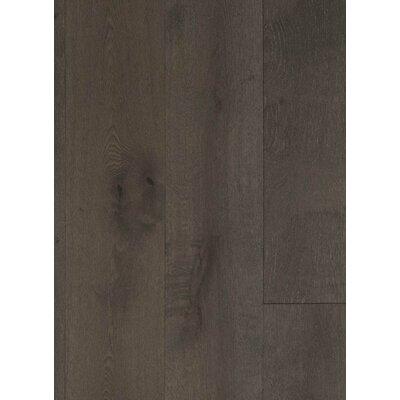 7.5 Engineered Oak Hardwood Flooring in Brushed Wet Granite