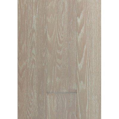 6 Engineered Oak Hardwood Flooring in Brushed Waterfront