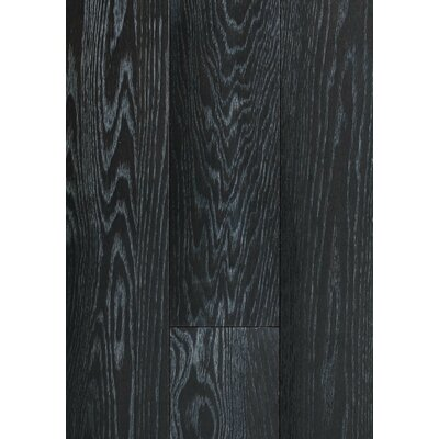 6 Engineered Oak Hardwood Flooring in Brushed Coal
