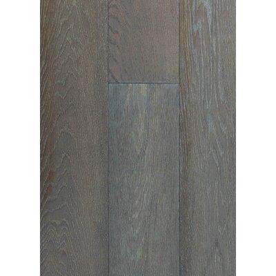 6 Engineered Oak Hardwood Flooring in Brushed Fog