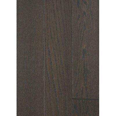 5 Engineered Oak Hardwood Flooring in Brushed Dark Chocolate