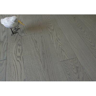 5 Engineered Oak Hardwood Flooring in Brushed Granite