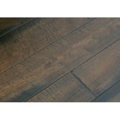 4 Solid Hevea Hardwood Flooring in Native Cobbler