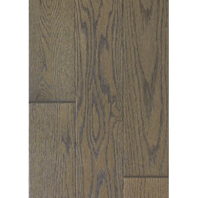 5 Engineered Oak Hardwood Flooring in Brushed Milk Chocolate