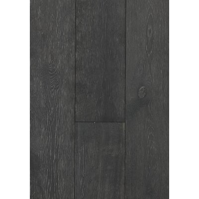 7.5 Engineered Oak Hardwood Flooring in Brushed Midnight Oak