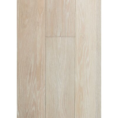 6 Engineered Oak Hardwood Flooring in Brushed Seashore