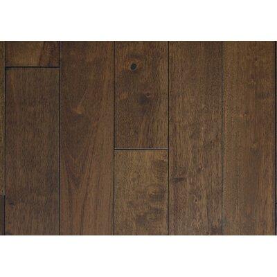 4.5 Solid Hevea Hardwood Flooring in Smooth Clay