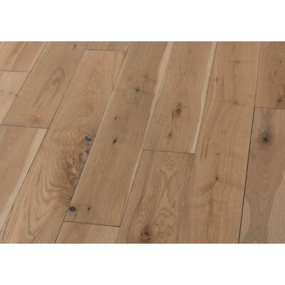 5 Solid Oak Hardwood Flooring in Brushed Antique Natural