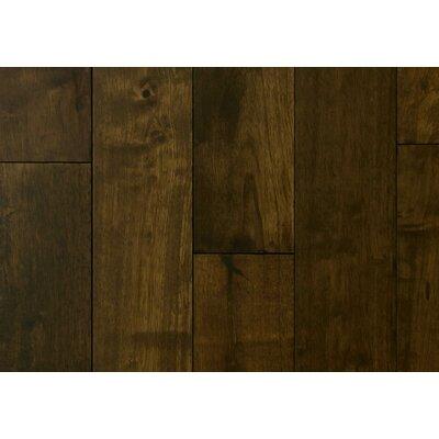 4.5 Solid Hevea Hardwood Flooring in Cocoa