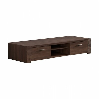 Raflo 60 TV Stand Color: Dark Brown