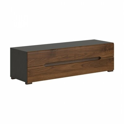 Elpasso 59 TV Stand Color: Gray / Dark Brown