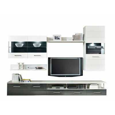 Avila Entertainment Center Color: Gray