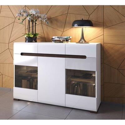 Azteca 3 Drawer 1 Door Accent Cabinet S205-KOM2W1D3S.10.15-BIP.WEM
