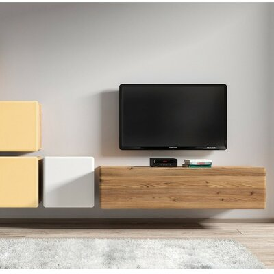 Possi TV Stand Finish: Brown