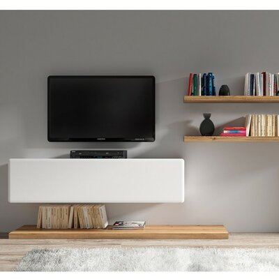 Possi 63 TV Stand Color: White