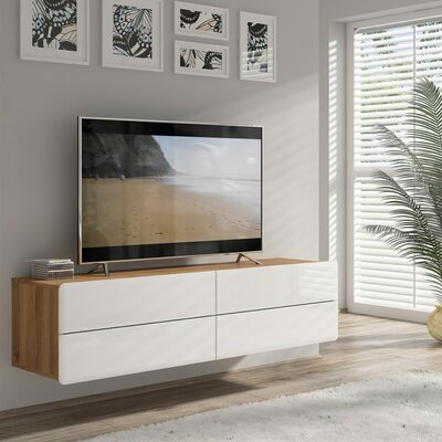 Spradley 63 TV Stand Color: Brown