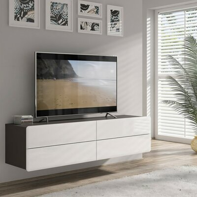Spradley 63 TV Stand Color: Gray