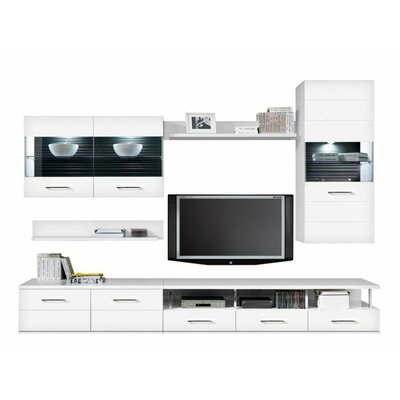Avila Entertainment Center Color: White