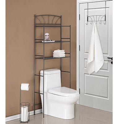 "Palm 23.1"" W X 65.75"" H Over The Toilet Storage"